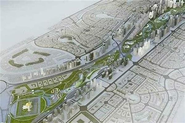 """مشروع الحدائق المركزية بالعاصمة الإدارية الجديدة """"كابيتال بارك""""."""