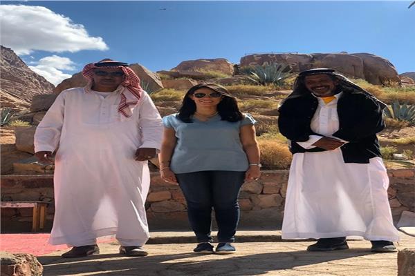 وزيرة السياحة