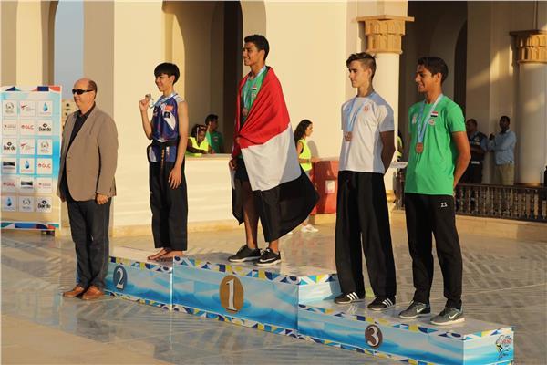 مصر تحصد 18 ميدالية منهم ذهبية تاريخية في بطولة العالم الشاطئية للتايكوندو