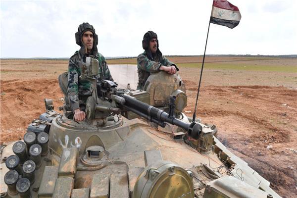 آلية تابعة للجيش السوري