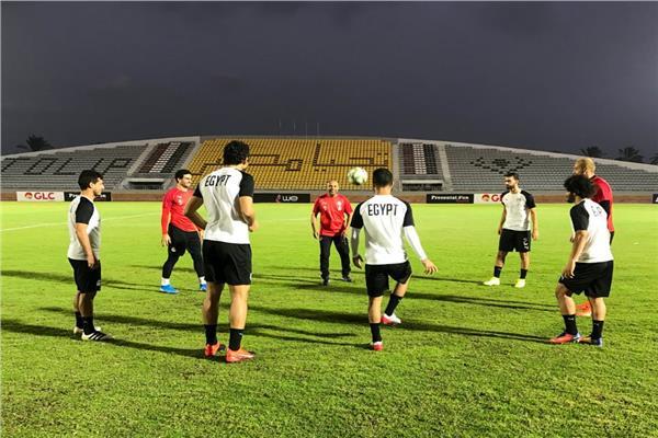 منتخب مصر يختتم استعداداته لمواجهة بوتسوانا