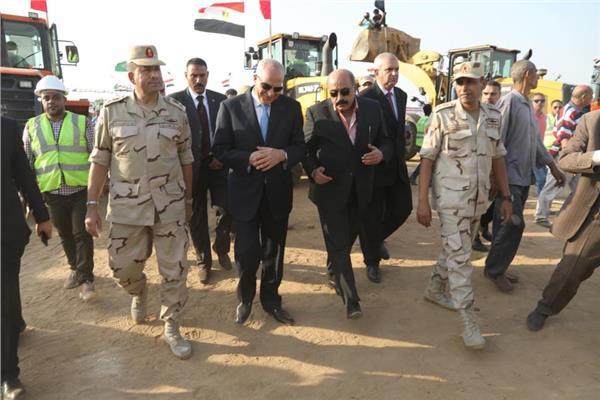 محافظة الجيزة تنفذ تدريبا لمواجهة الأزمات والكوارث صقر 53