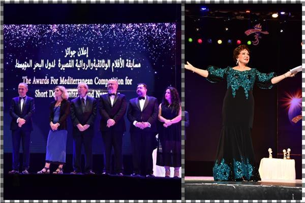 تكريم نجوم مهرجان الأسكندرية السينمائى الدولى لدول البحر الأبيض المتوسط