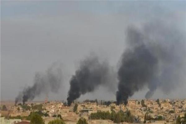 المرصد:  مقتل 14 في ضربة تركية بمدينة رأس العين