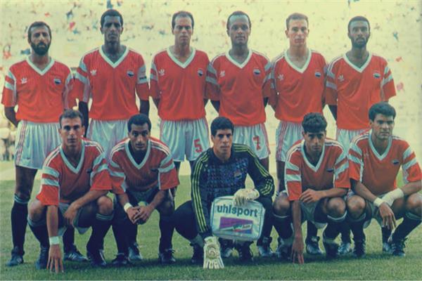 منتخب مصر في بداية التسعينات