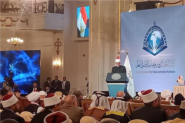خلال كلمته في مؤتمر الإفتاء نيابة عن الإمام الأكبر تصوير :  محمد هشام