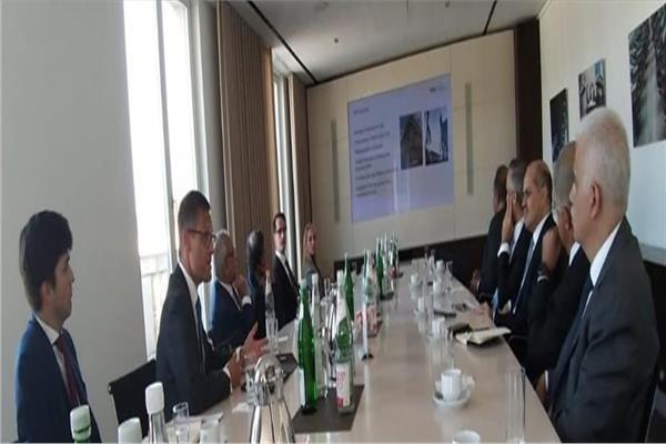 خلال زيارة وفد اتحاد الصناعات المصرية  إلى ألمانيا