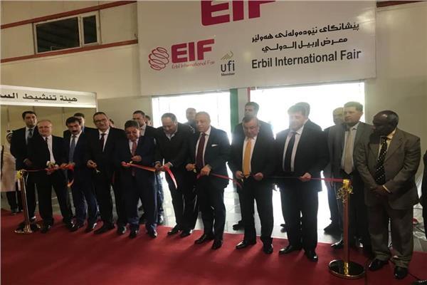 مصرللطيران الناقل الرسمي لمعرض المنتجات المصرية بأربيل