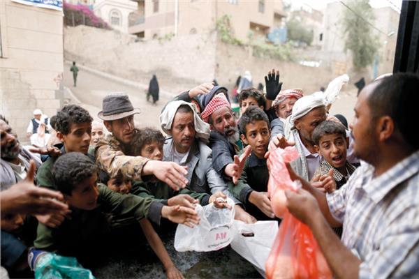 الاوضاع الانسانية باليمن
