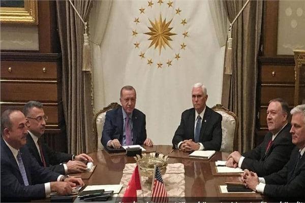 جانل من اجتماع أردوغان وبنس