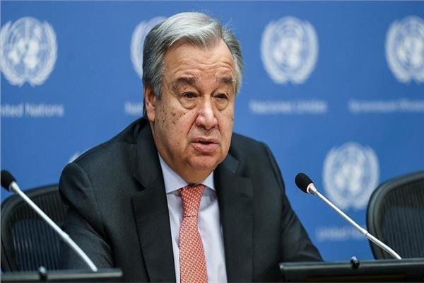 أنطونيو جوتيريش- الأمين العام للأمم المتحدة