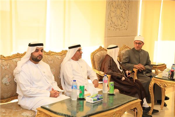 أمين «البحوث الإسلامية» يلتقي مستشار الشؤون القضائية والدينية بالإمارات