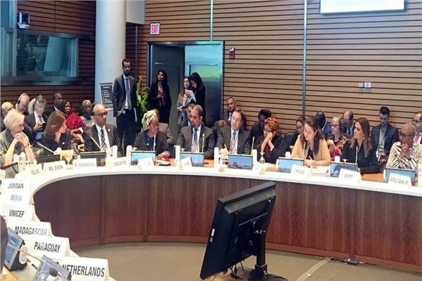 جانب من الاجتماع الوزاري لمجموعة الأربعة والعشرين الدولية