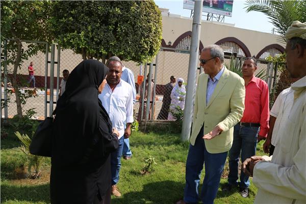 تطوير محيط مسجد سيدي عبدالرحيم القنائي