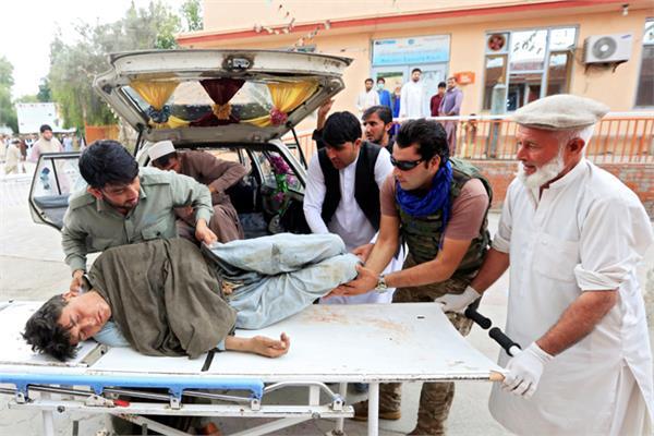 تفجير مسجد بأفغانستان