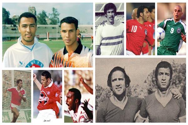 هدافو الدوري المصري السابقين