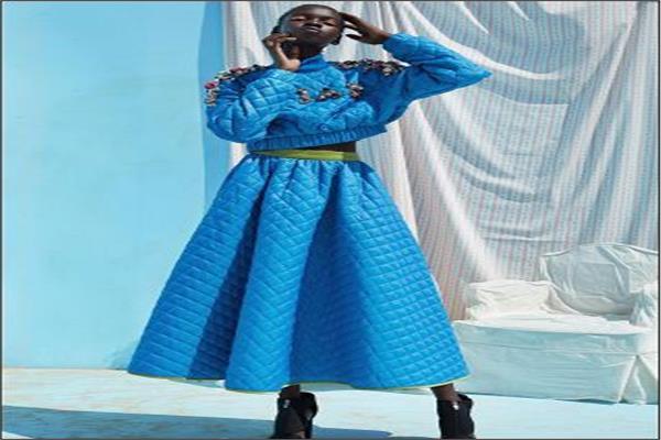 تقاليع| بعد «الكوفيرتة» .. «فستان اللحاف» أحدث أزياء 2020