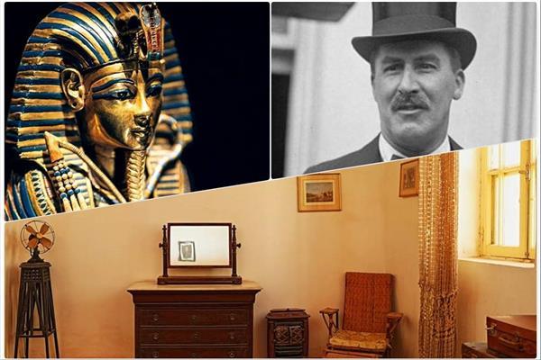 الإنجليزي هوارد كارتر صاحب الفضل في الكشف عن مقبرة الفرعون الذهبي