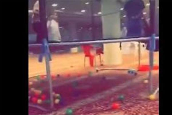 صورة من الفيديو المتداول