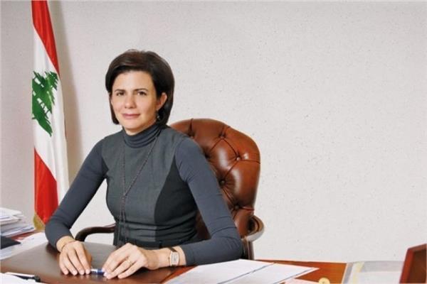 وزيرة الداخلية ريا الحسن