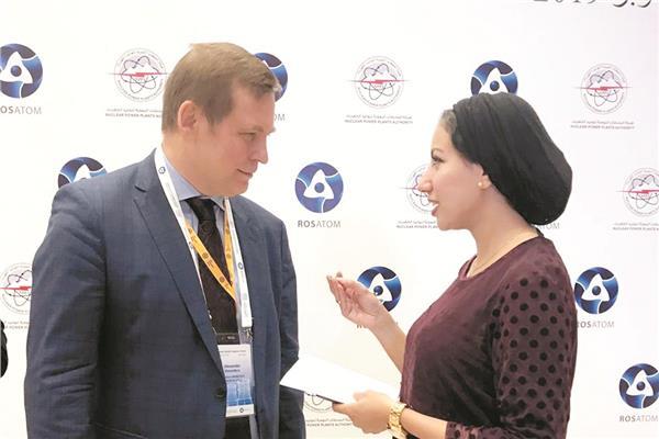 مدير المؤسسة الروسية للطاقة النووية خلال الحوار