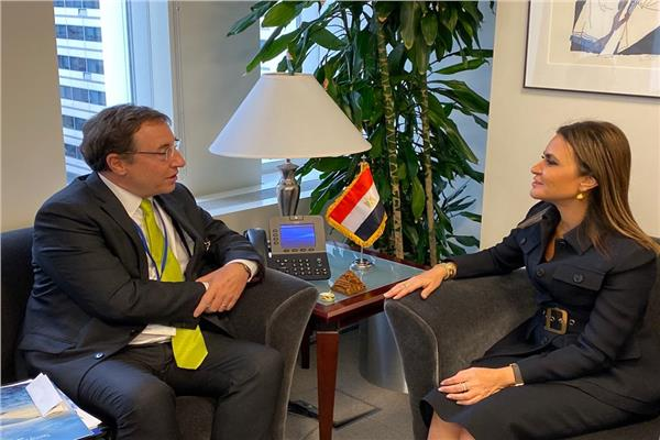 وزيرة الاستثمار تلتقي مدير البرنامج الإنمائي للأمم المتحدة