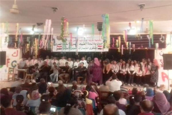 تعليمية نجع حمادي تُنظم احتفالية كبري للذكرى الـ 46 لانتصارات أكتوبر المجيدة