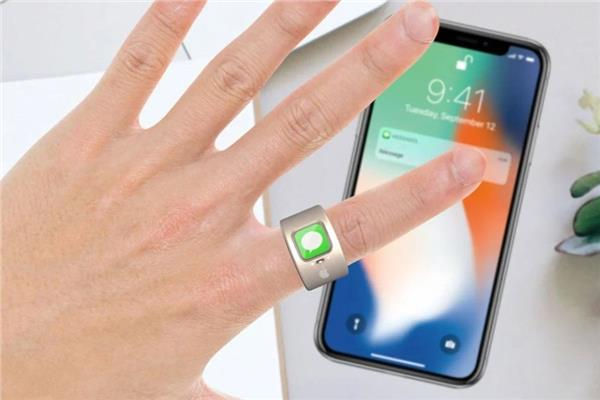 خاتم ذكي من أبل للتحكم في هواتف آيفون