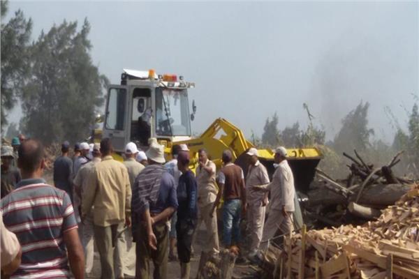 البيئة: إزالة 115 مكمورة فحم مخالفة