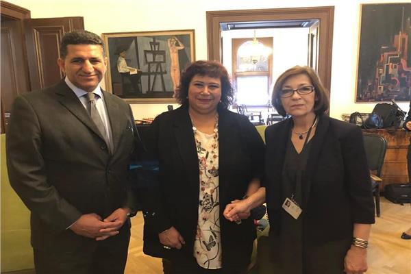تبادل خبرات مصرية صربية في مجال المتاحف والمعارض
