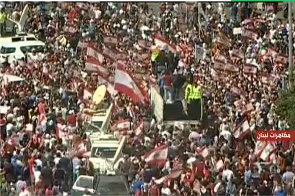 استمرار المظاهرات لليوم الخامس في لبنان