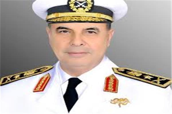 الفريق أحمد خالد حسن قائد القوات البحرية