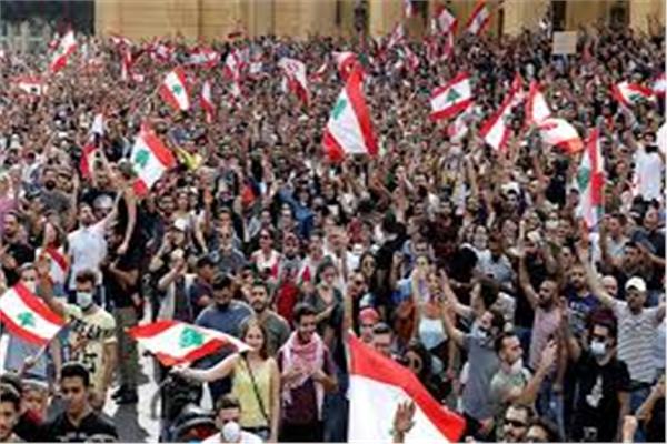 الاحتجاجات اللبنانية