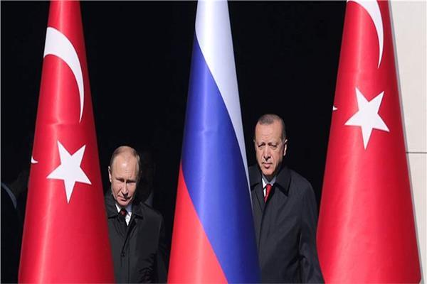 رجب طيب أردوغان وفلاديمير بوتين
