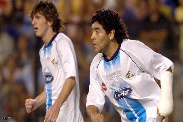 «ميسي» و«مارادونا»