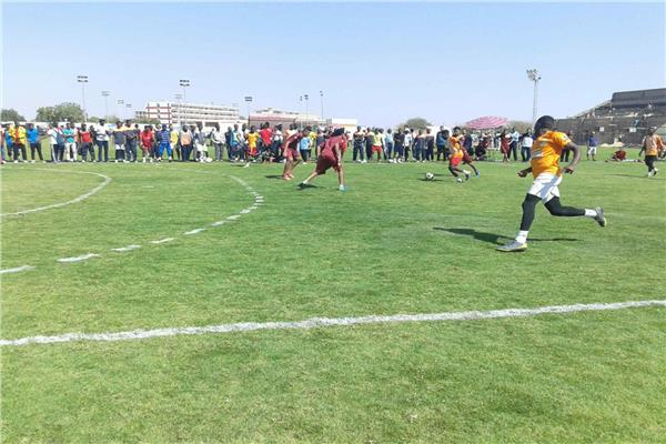 فريق جامعة أسوان يصعد لدور الثمانية بأسبوع الجامعات الأفريقية
