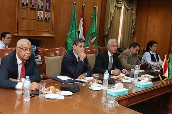 جامعة المنوفية تستقبل لجنة تقييم أفضل جامعة مصرية