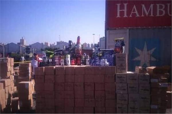إحباط تهريب 14 طنا منشطات جنسية ومستحضرات تجميل بميناء الإسكندرية