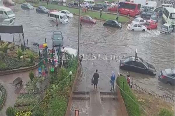 أمطار مدينة نصر