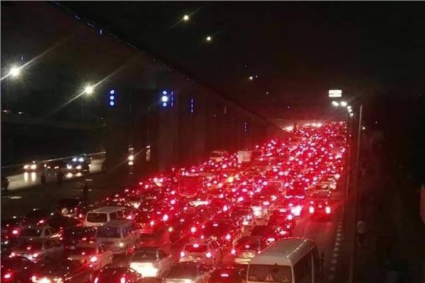 سيارات رفع المياه فى الاماكن التى بها تجمع مياه بالقاهرة