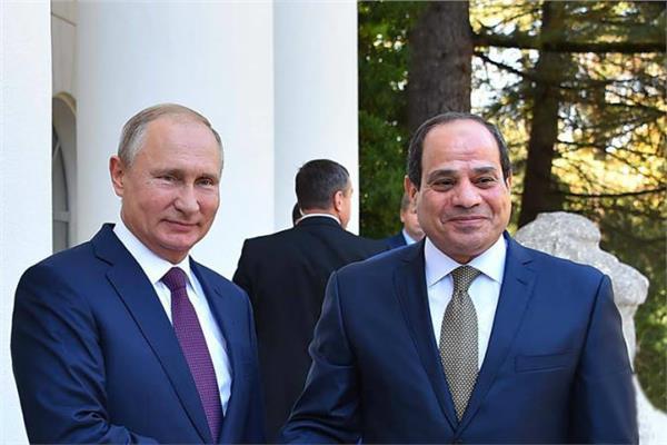 الرئيس عبد الفتاح السيسي - الرئيس بوتين