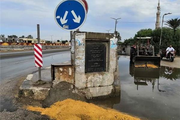 منع الإجازات واستمرار كسح مياه الأمطار من الأنفاق والكباري بالقليوبية