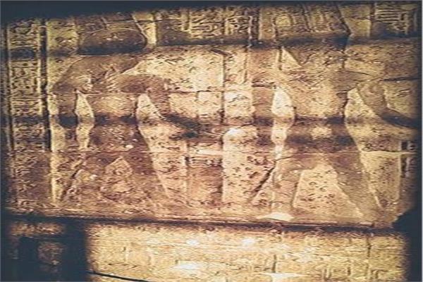 تعامد الشمس على معبد إيزيس فى الأقصر