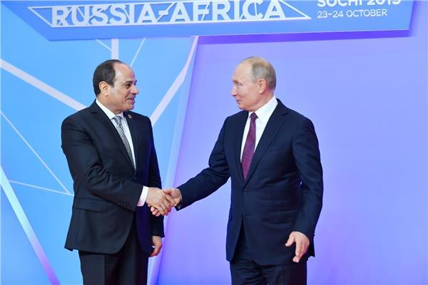 الرئيس بوتين يستقبل الرئيس السيسي