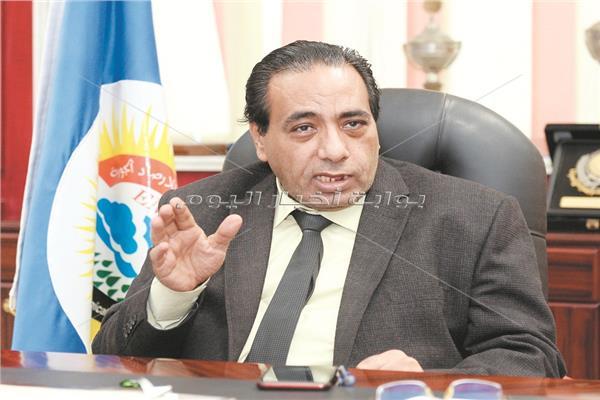 الدكتور أشرف صابر رئيس هيئة الأرصاد الجوية