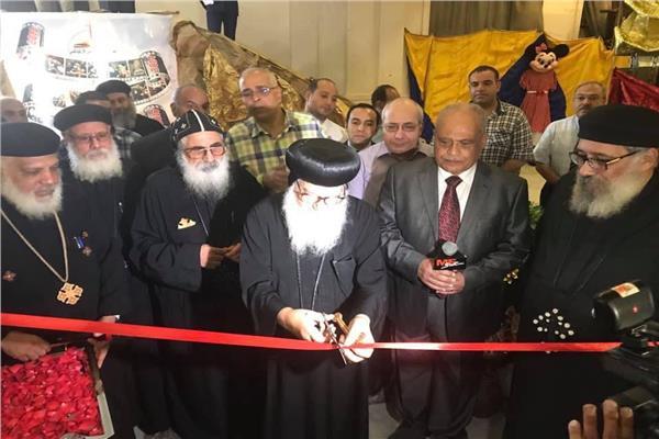 افتتاح معرض الكتاب القبطي الأرثوذكسي