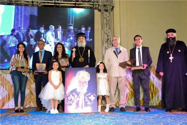 """حفل المتفوقين """"التحدي"""" بكاتدرائية مار جرجس بمدينة العاشر"""
