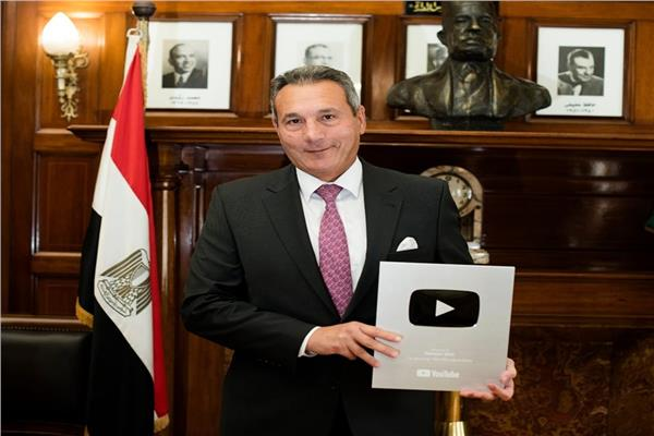 محمد الإتربى رئيس مجلس ادارة بنك مصر