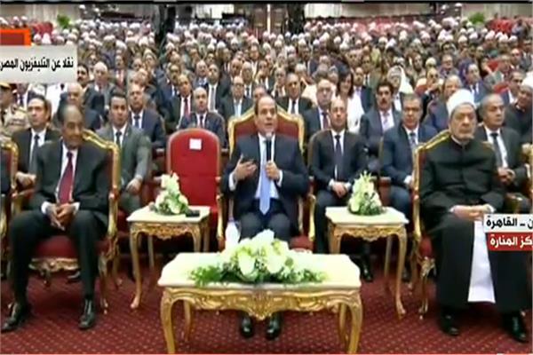 السيسي يوجه بعقد مؤتمر للثورة على الأفكار والمتطرفة