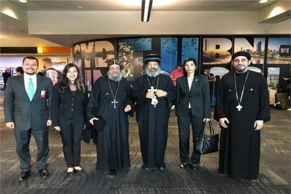 الأنبا رافائيل أسقف كنائس وسط القاهرة يزور نيوزيلندا